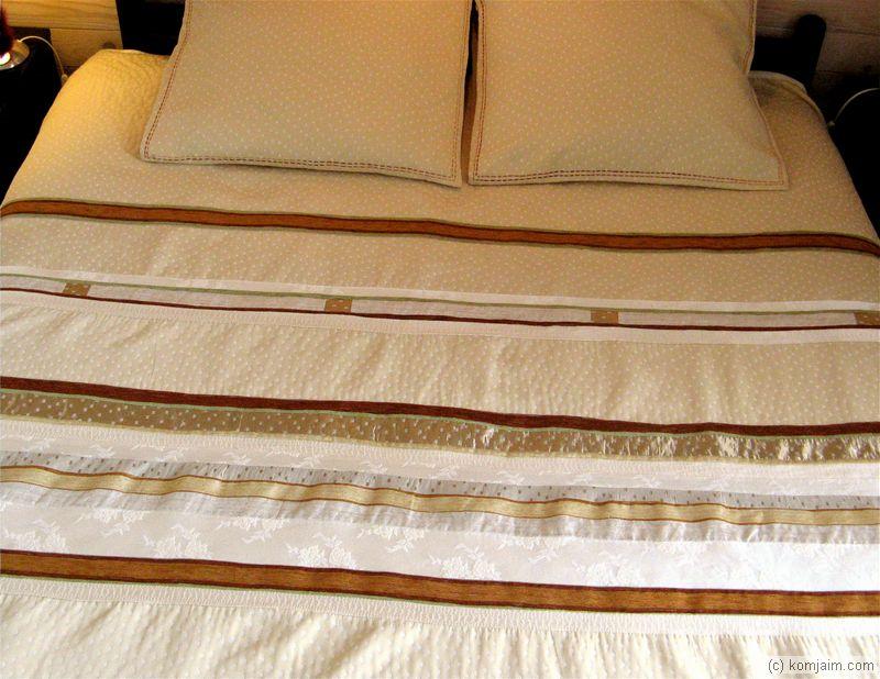 komjaim couvre lits. Black Bedroom Furniture Sets. Home Design Ideas